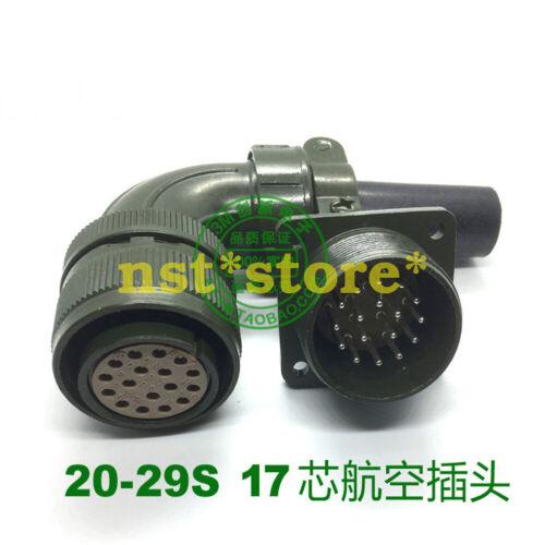 1PC VW3M8122 MS3108B 20-29S Mitsubishi Electric Plug 17 pinhole