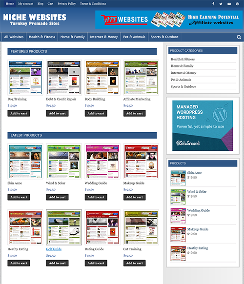 NICHE WEBSITE RESELLER - Profitable Fully Automated Website Business For Sale