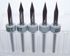 (5) - 30 degree angle carbide bits for scoring or engraving - 2002.1181.030