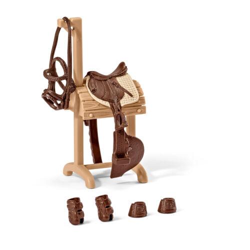 forro Schleich Horse Club y granja Life accesorios para la selección sillín talabartería