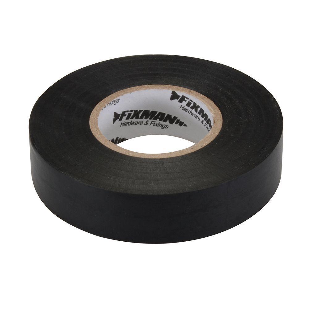 Silverline-192031 FIXMAN Insulation Tape 50mm x 33m Yellow