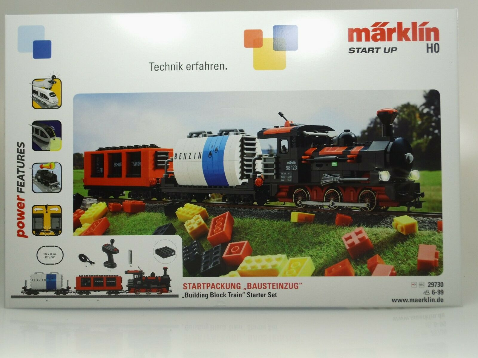 Märklin Start Up - Set   Bausteinzug   con Suono (Tipo Nr.29730) Nuovo   Conf.