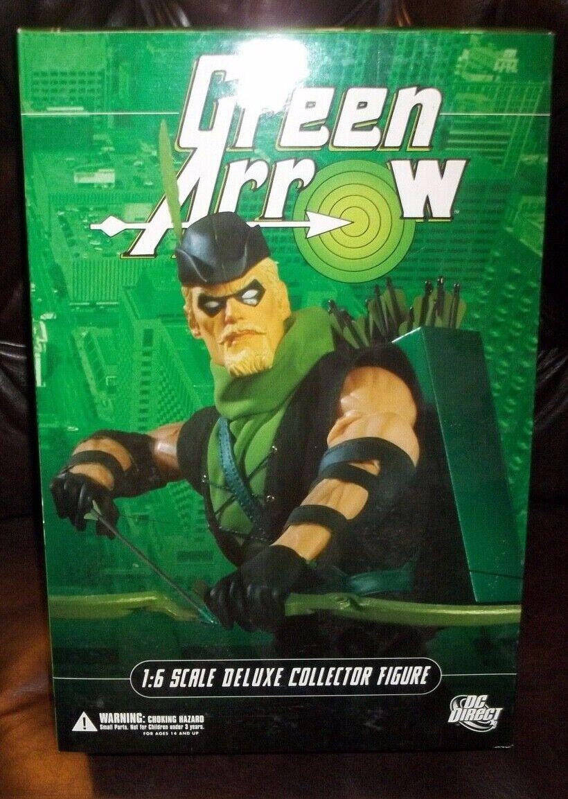 12 Pezzi da Collezione DC DIRECT 13 pollici 16 SCALA SERIE verde ARROW Deluxe cifra