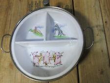 0575 Vintage Garrison1940s Babies Food Warmer Ceramic Dish