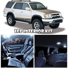 95-02 Toyota 4Runner 4 Runner White Interior LED Light Bulb Kit + Mirror Vanity