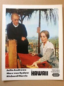 Hawaii-Kinoaushangfoto-66-Julie-Andrews-Max-von-Sydow