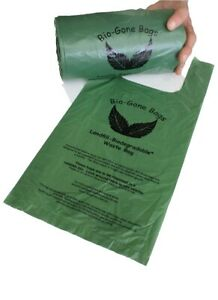 500 Dog Poo Bags 100% LANDFILL Biodegradable BioGone | FREE Next Day Shipping!