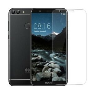 Huawei P-Smart - Panzerfolie Screen Schutzglas Transparent Schutzfolie Tempered