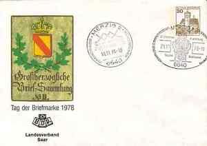 A59 Saar 1978 Merzig - Hilbringen - Tag der Briefmarke: Sonderganzsache des BDPh - Merzig, Deutschland - A59 Saar 1978 Merzig - Hilbringen - Tag der Briefmarke: Sonderganzsache des BDPh - Merzig, Deutschland