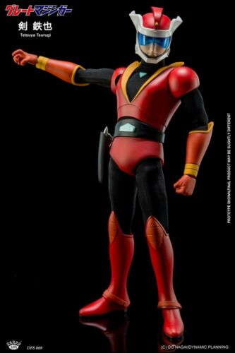 King Arts 22cm DFS069 Diecast Flexible Tetsuya Tsurugi Movable Action Figure Toy