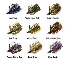Strike-King-Denny-Brauer-DB-Structure-Jig-Choice-of-Colors