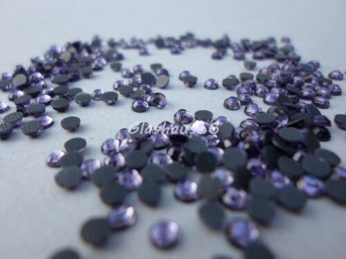 1000 Hotfix Strasssteine Super Qualität *Tanzanite*//*Flieder* SS10 ~ 2,8-3mm