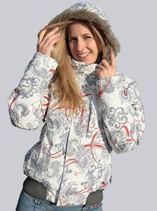 Protest-Jacke-Snowboardjacke-Skijacke-034-Ransom-034-weiss-grau-Groessen-L-XL