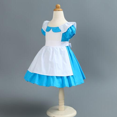Alice in Wonderland Toddler Baby Girl Princess Tutu Dress Party Costume ZG8