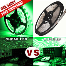 5M Green Waterproof 300 LEDs 3528 SMD IP67 Flexible LED Soft Light Strip DC 12V