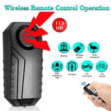 A6 Vélo Cyclisme Sécurité Télécommande Sans Fil Vibration Alarme Anti-vol BSN