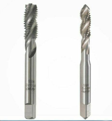 4mm New 1pc Metric Right Spiral Flute Tap - H2 HSS Threading Tools M4 x 0.5