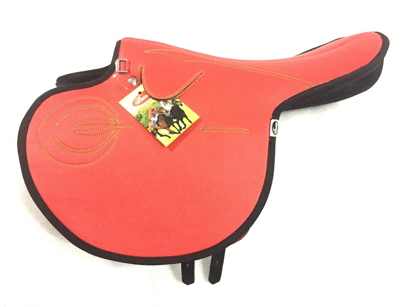 New International Quality Synthetic Race  Exercise Saddle Red Light Weight  best reputation