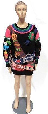 Berek New York M Sweater Hand Knit In Uruguay Black
