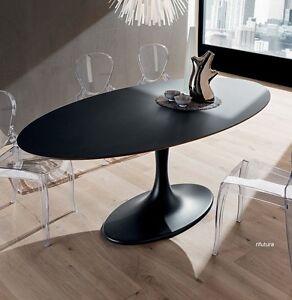Tavolo ovale soggiorno cucina pr ruud 210x116 cm piano - Tavolo ovale saarinen knoll ...