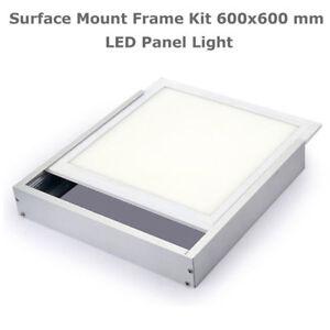 Surface-Mount-Frame-Kit-600x600mm-LED-Panel-Ceiling-Aluminum-White-Finish-DCUK