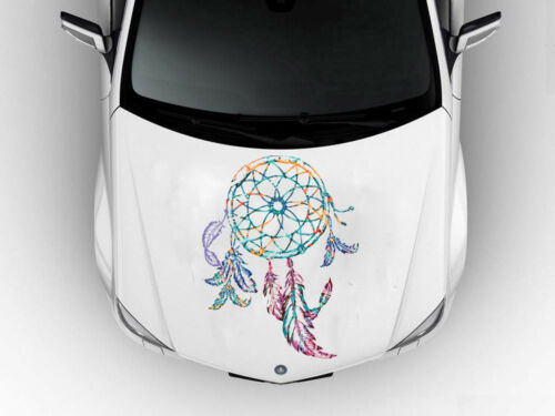 Dream Catcher Boho Style Car Hood Vinyl Sticker Decal Fit Any Car Auto SD50