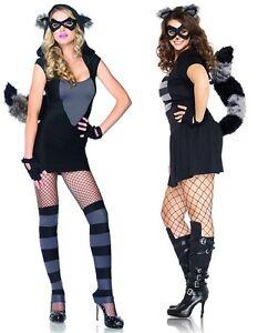 Risky-Raccoon-Costume-8-18-Leg-Avenue-Sexy-Animal-Fancy-Dress-Adult-Halloween