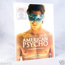 American Psycho (DVD, 2000) Christian Bale R2 UK PAL