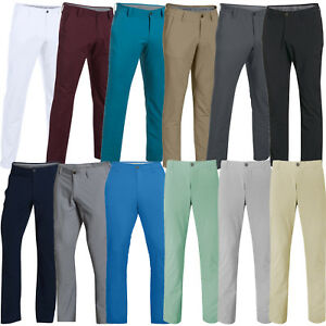 UNDER ARMOUR MENS MATCHPLAY TAPERED LEG GOLF PERFORMANCE TROUSERS (1253492)