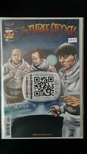 Three-Stooges-1-QR-Code-Variant-Cover-High-Grade-Comic-Book-RM8-203