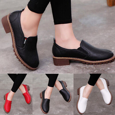 Womens Casual Ankle Boots Round Toe