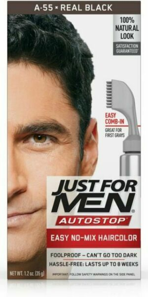 Just For Men Autostop Haircolor Kit Real Black 1ct