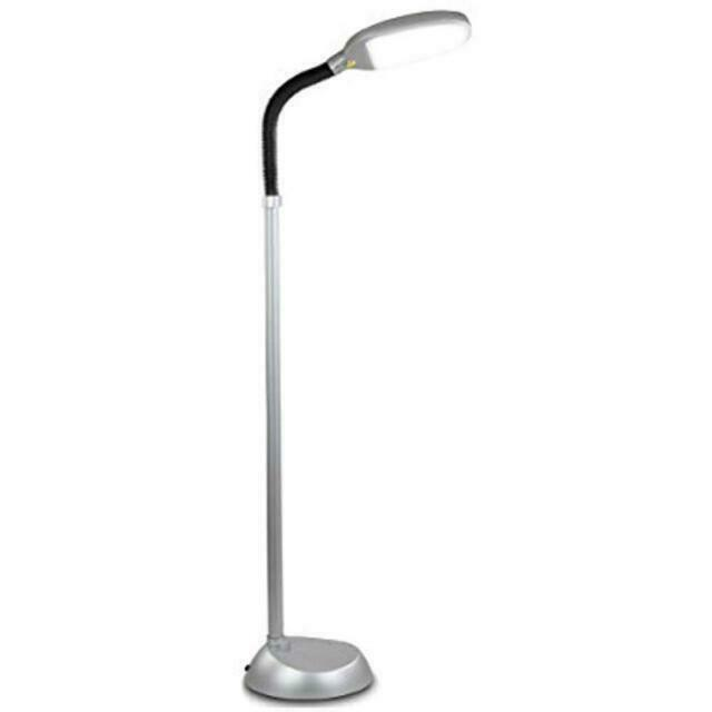 Brightech Litespan Led Reading And Crafting Floor Lamp Dimmable Full For Sale Online Ebay