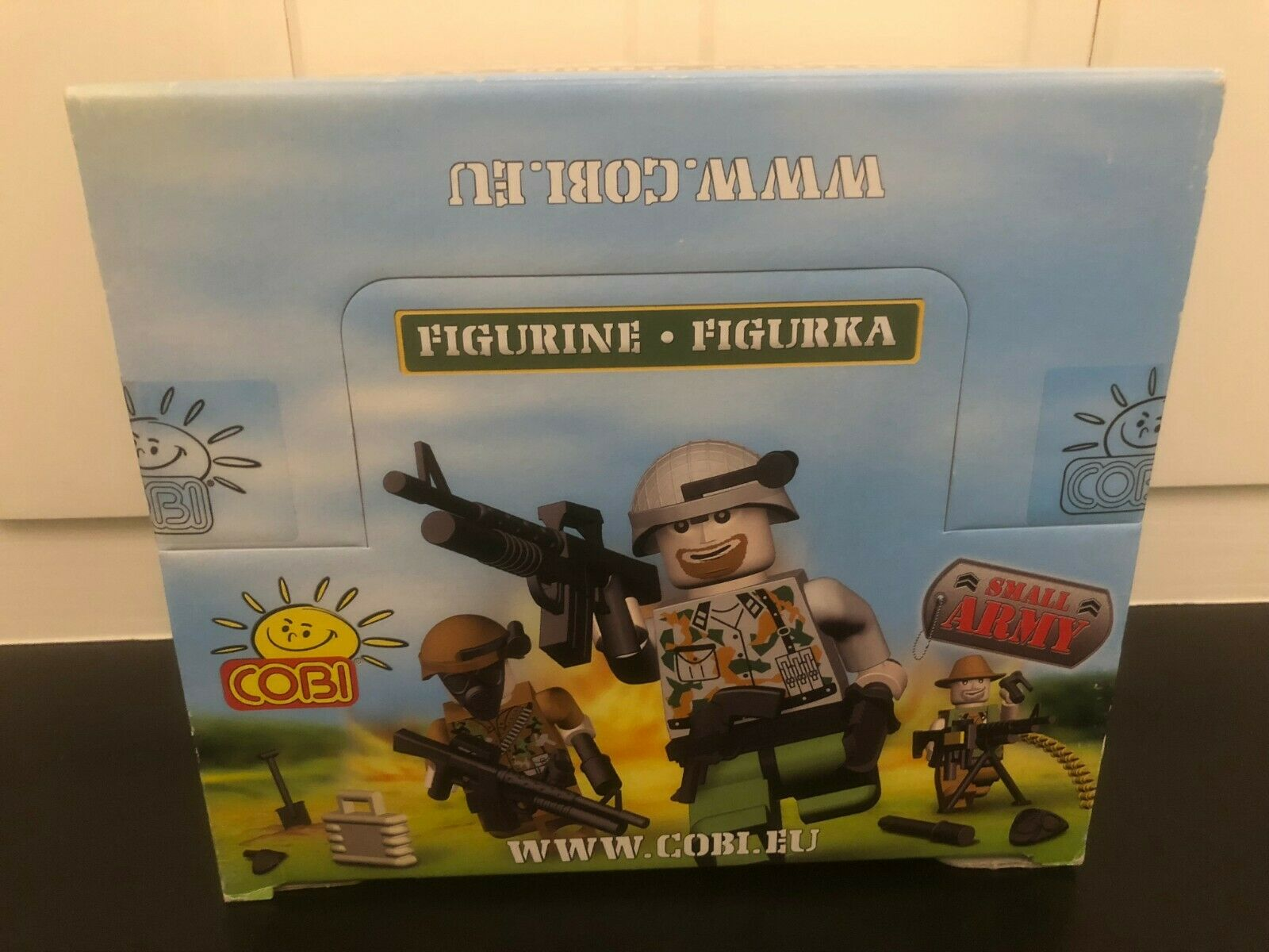 Cobi Small Army 2012 - minifigures box - new and sealed