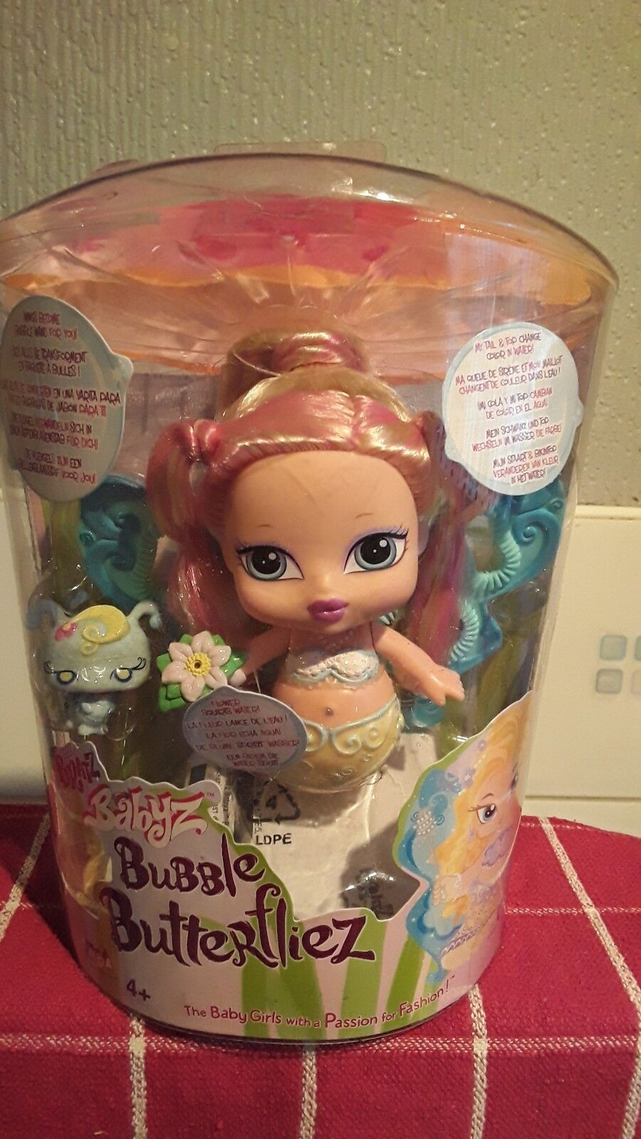 Vivid Imaginations BRATZ Babyz BUBBLE butterfliez Chloe