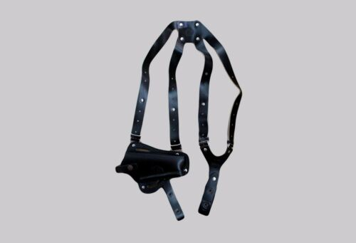 3in1 Vertical Shoulder /& Belt Holster Fits GLOCK 17 K445-G17 Horizontal