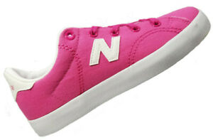 New-Balance-Girls-Canvas-Shoes-Size-2-3-Pink