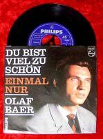 Single Olaf Baer Du bist viel zu schön Einmal nur