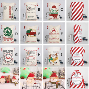 Large-Canvas-Merry-Christmas-Santa-Sack-Xmas-Stocking-Apple-Gift-Storage-Bag