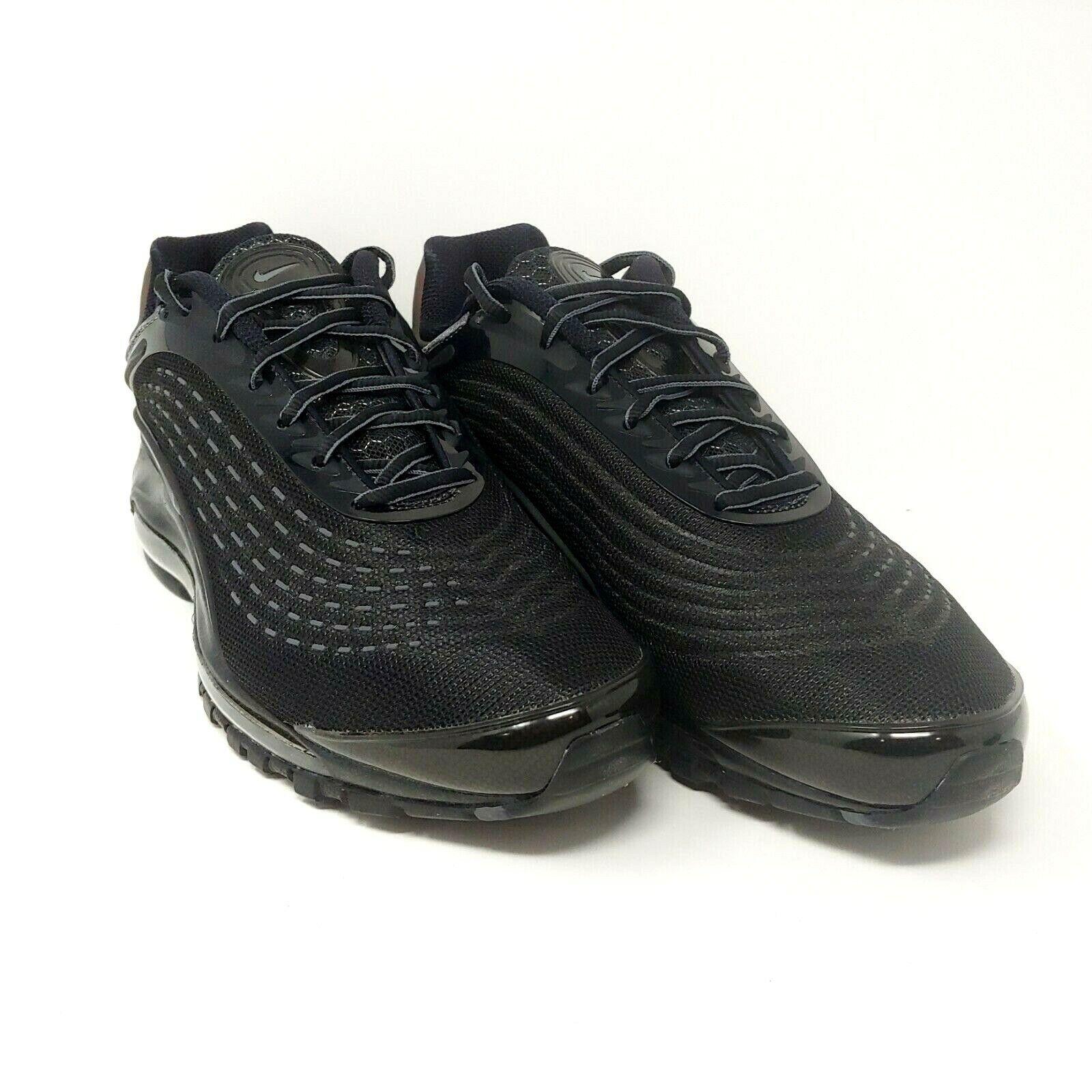 Nike Nike Nike Air Max Deluxe Triple Black Dark Grey Reflective 3M Sneakers Mens Size 10 ef739f