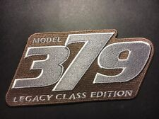 Peterbilt Model 379 Legacy Edition High-Quality Trucker Patch Brown
