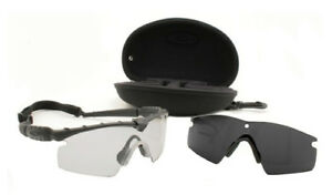 cc452b7ee4111 Oakley SI M Frame 2.0 Hybrid Array Glasses - Matte Black Clear (11-138)