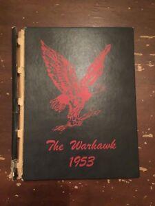 1953-The-Warhawk-Legrand-Iowa-School-Yearbook