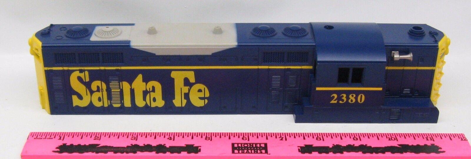 Lionel shell  2380 Santa Fe Diesel Shell
