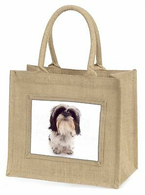 Shih-tzu Hund große natürliche jute-einkaufstasche Weihnachten Geschenkidee,