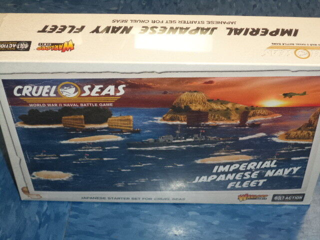 Imperial Japanese Navy Fleet 1 300 Scale Naval Models WWII Warlord Games New