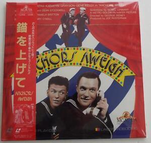 ANCHORS-AWEIGH-Frank-Sinatra-Gene-Kelly-LASER-DISC-JAPANESE-SUBTITLES