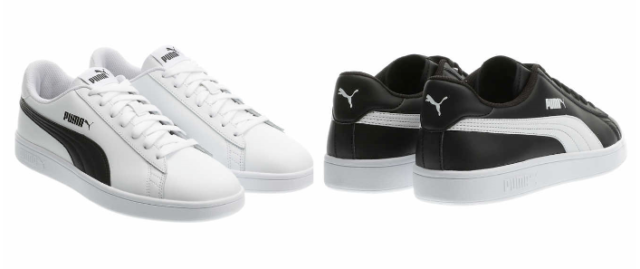 NEW!! Puma Men's Smash V2 Leather Sneaker Shoes Variety