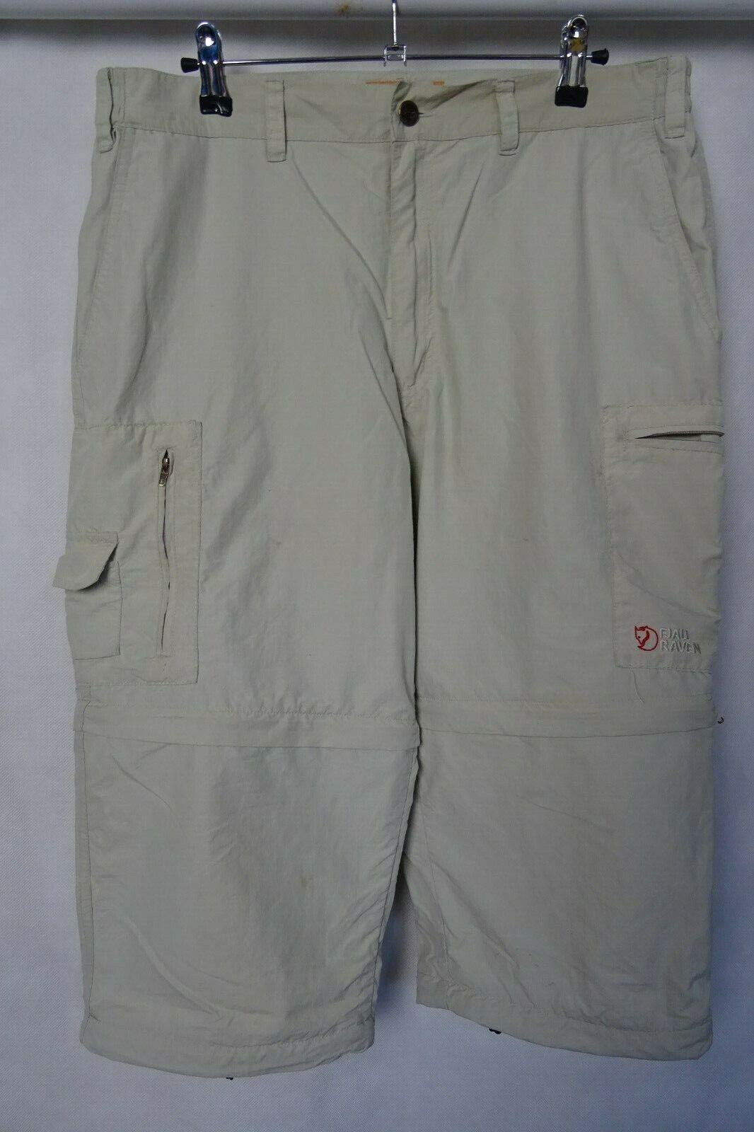 Uomo Fjällräven Outdoor 3 4 Lunghezza Pantaloni Pantaloni Pantaloni Pants W34 L18 a3272c