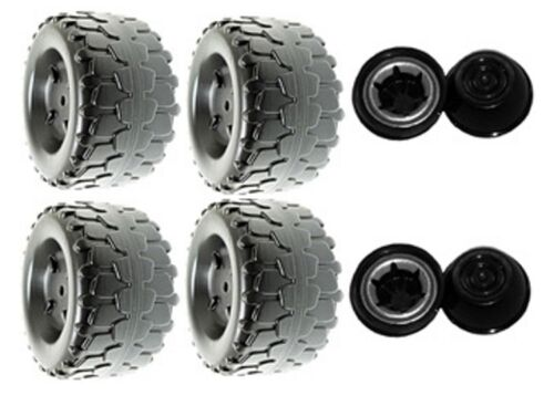 4 Pack Power Wheels H4807 or H4807-9993 Jeep Wrangler Replacement Wheel